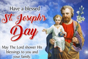 St. Joseph's Day is a Roman Catholic feast day commemorating the life of the stepfather of Jesus and husband of Mary. Always celebrated March 19
