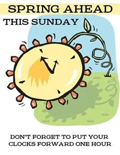 Daylight Savings Begins!