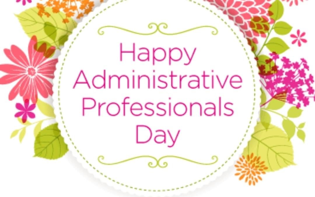 Administrative Day!